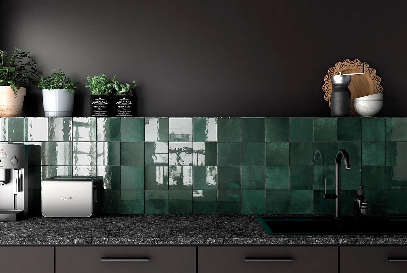 Плитка Equipe  –  лучший вариант для создания дизайна кухни