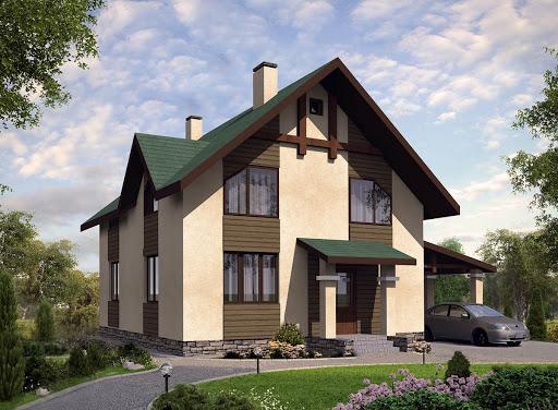 Разработка проекта загородного дома