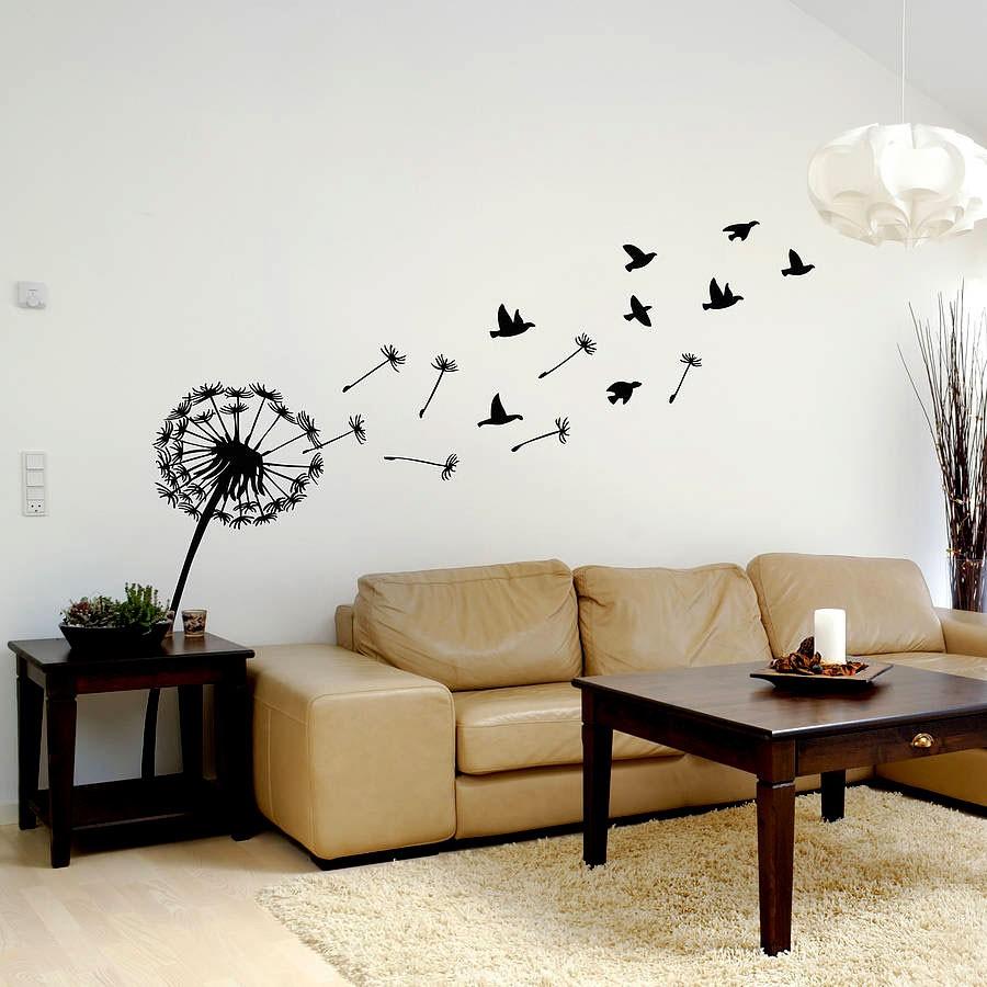 Интересные идеи для декора гостиной
