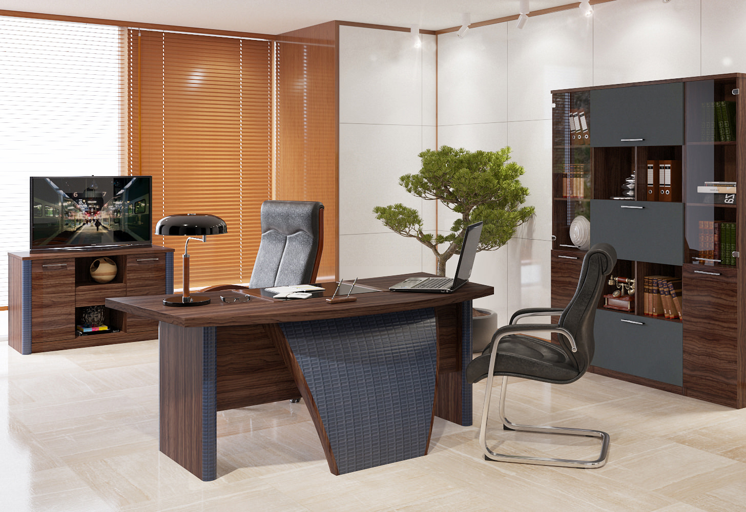 Офисная мебель для кабинетов руководителей