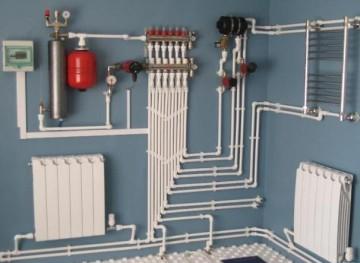Этапы монтажа системы отопления