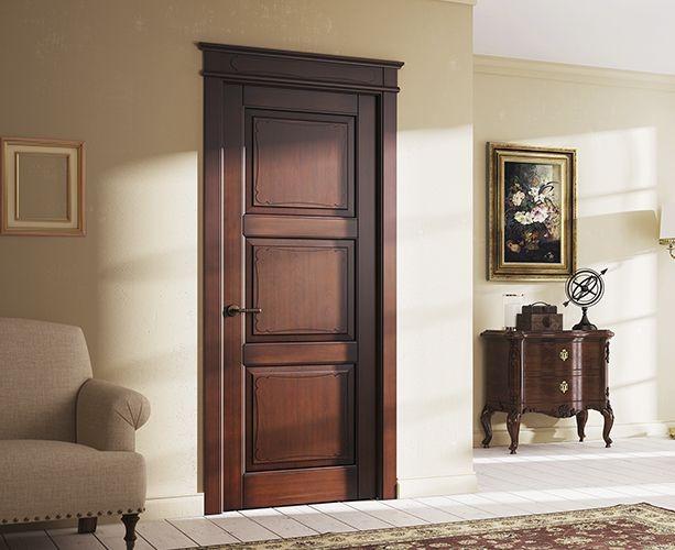 6 идеальных дизайнов для деревянных дверей из массива