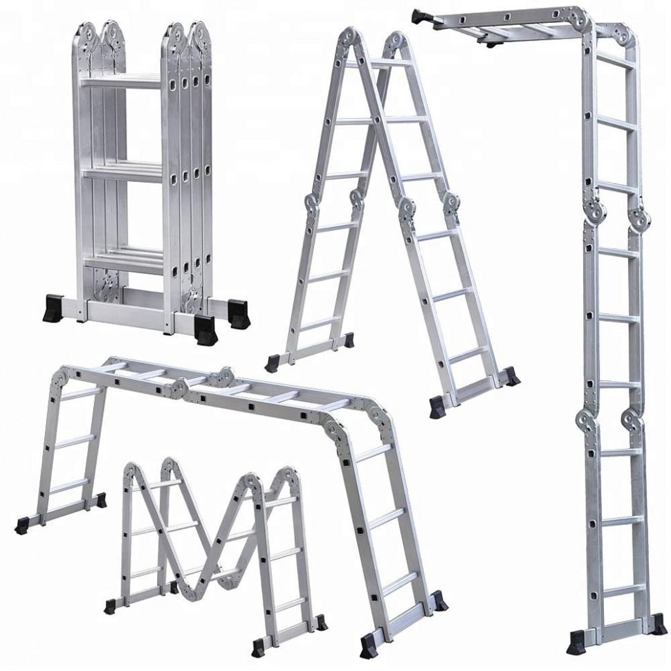 Алюминиевая лестница: незаменимая вещь в быту и строительстве