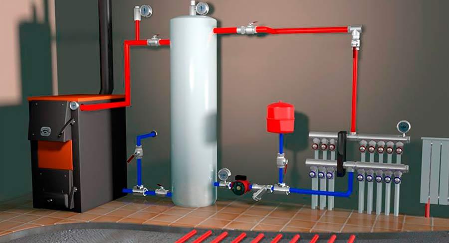 Основные этапы монтажа систем отопления