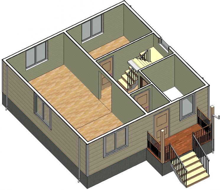 Дом 8 на 8 : интересные проекты