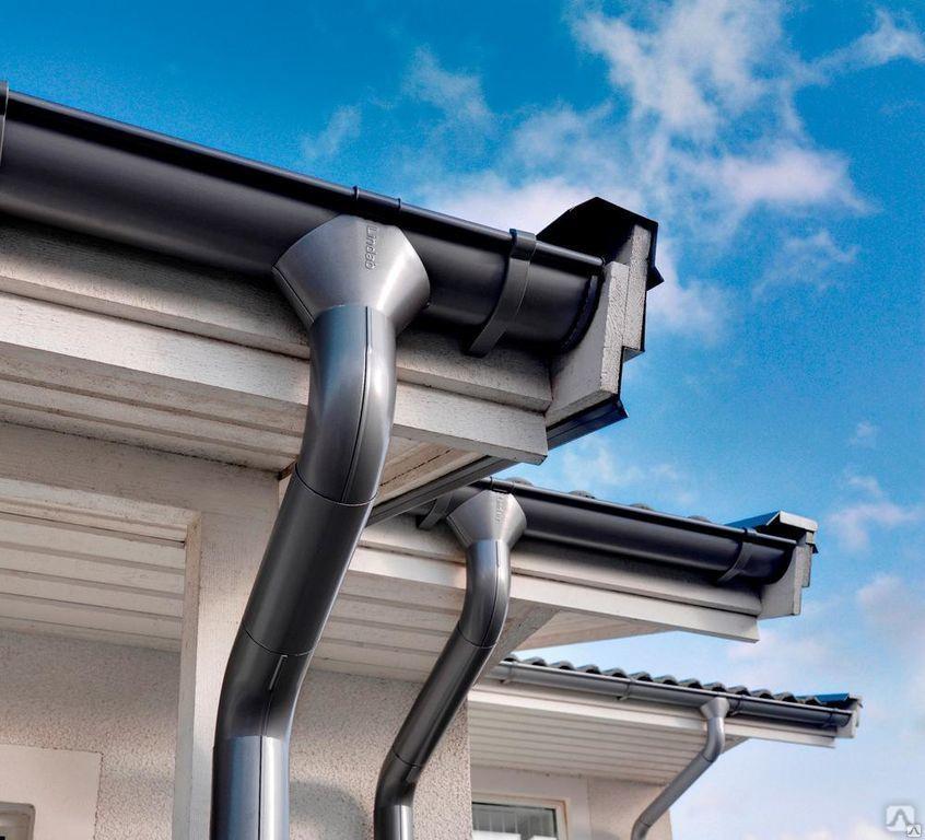 Виды водостоков для крыши — разновидности водосточных систем