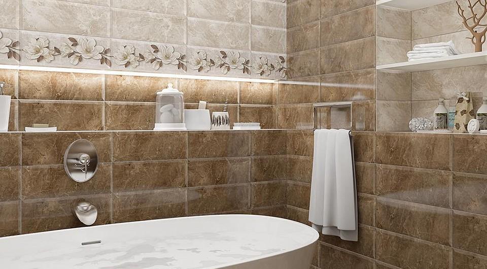 Какую плитку выбрать в ванную комнату?