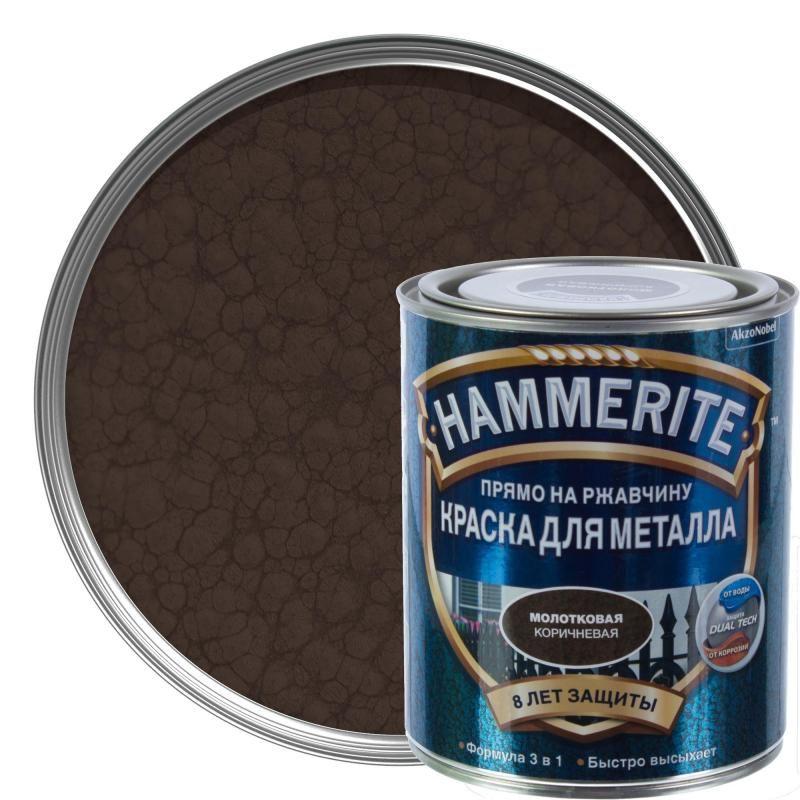 Технические характеристики краски Hammerite