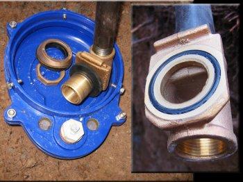 Как правильно установить адаптер для скважины?