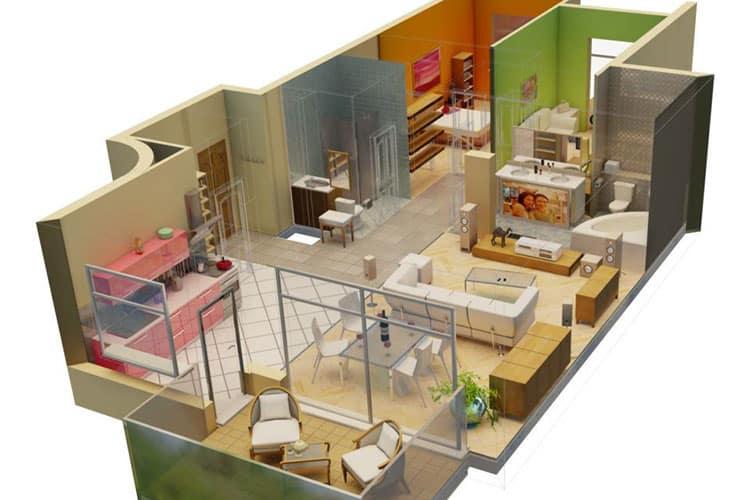 Состав и этапы дизайн проекта квартиры