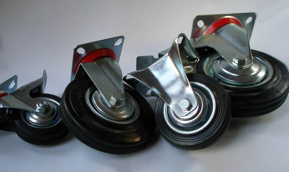 Разновидности колёс для тачек