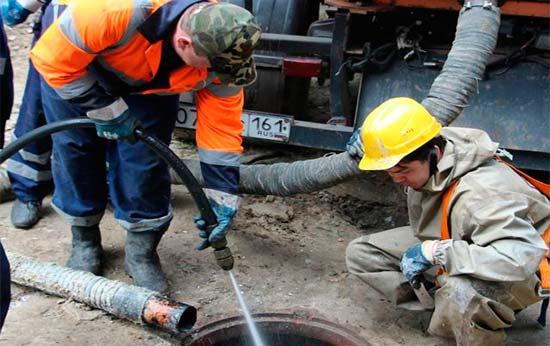 Методы очистки канализации